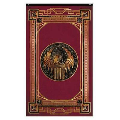 "Potter FANTASTIC BEASTS Licensed 50"" Magical Congress MACUSA CREST Flag BANNER"