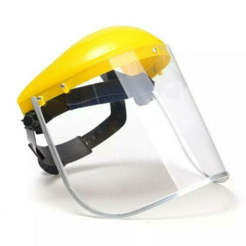Details about  /Facial Shield Work Industrial Full Face Cover Visor Protector Cover Safety