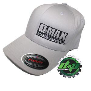 caa359dd5698e S M Silver Chevy Duramax flexfit hat ball cap fitted flex fit gear ...