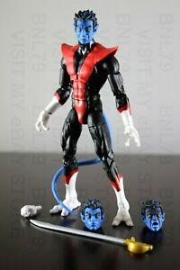 No Wendigo BAF Piece Marvel Legends NIGHTCRAWLER Figure X-Men IN HAND