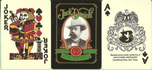 12 DECKS Jack Daniel/'s playing cards in 3 designs FREE USA SHIPPING ON 2nd BRICK