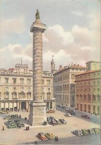 BF26300-piazza-colonna-car-roma-italy-front-back-image