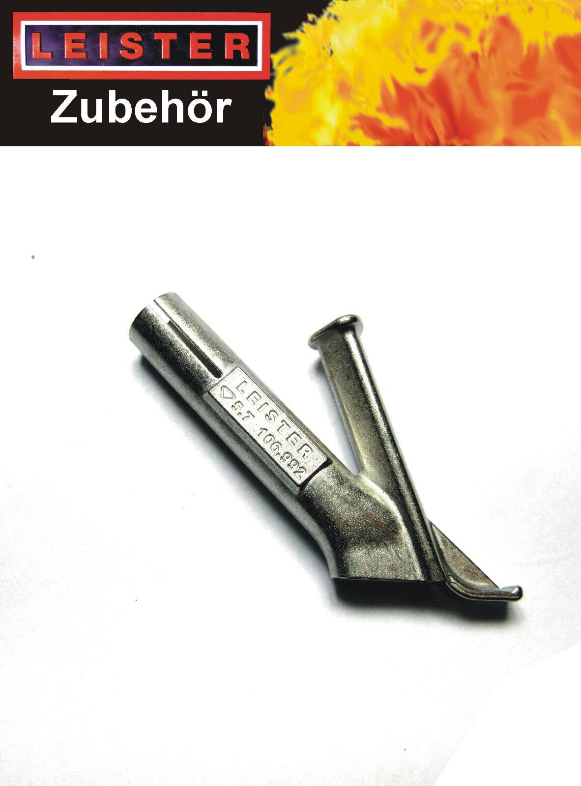 Leister Schnellschweißdüse 5,7 mm für Rohrdüse für TRIAC S, ST, AT 106992