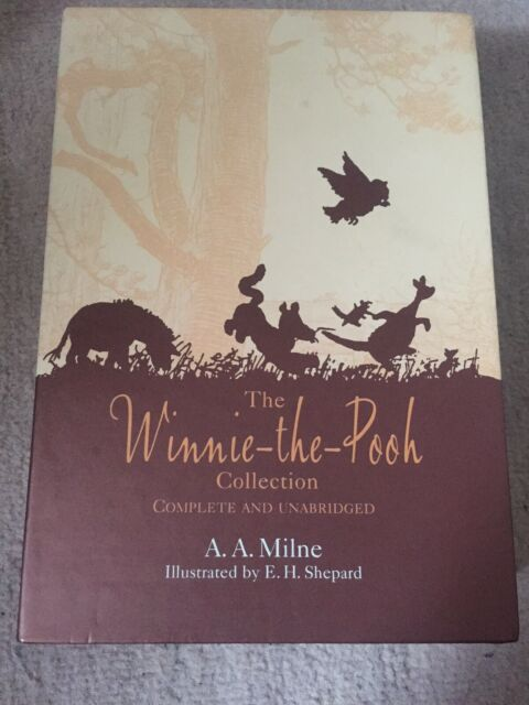 Winnie the Pooh the Complete Collection by A. A. Milne Box Set 2002