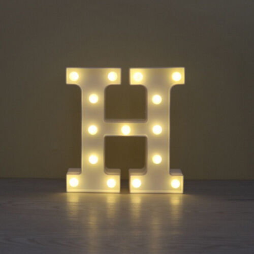 LED Light Up Number 0-8 Birthday Party Battery Power Night Decor Lamp Standing