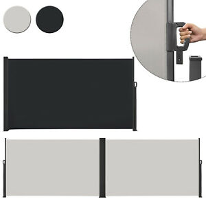 Seitenmarkise Markise Wandmarkise Sonnenschutz Sichtschutz Außen Wasserdicht Neu