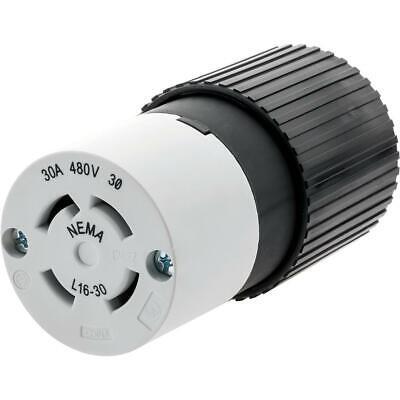 New NEMA HBL2823 Locking Connector 30 amp 3 Phase 277//480V L22-30R