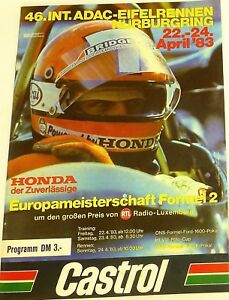 46-Int-ADAC-Course-Eifel-22-24-April-83-Nurburgring-Brochure-de-Programme-IX01