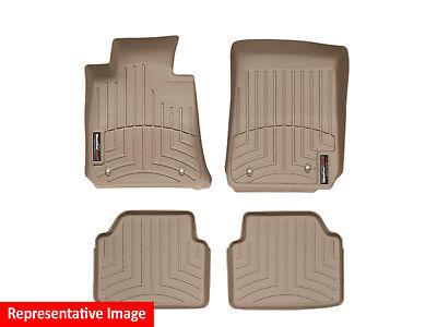 WeatherTech Front FloorLiner for Select Audi A8 Quattro Models 444201 Black
