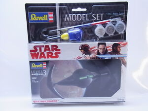Lot-44903-REVELL-03612-Star-Wars-Sith-Infiltrator-Model-set-1-257-NUOVO-IN-SCATOLA-ORIGINALE