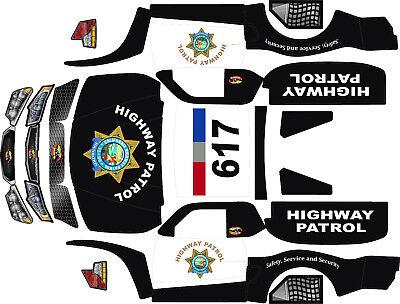 Losi 5ive T 5 T HPI hoonage Rovan Wrap decals stickers 22v1 Big Flex 5sc