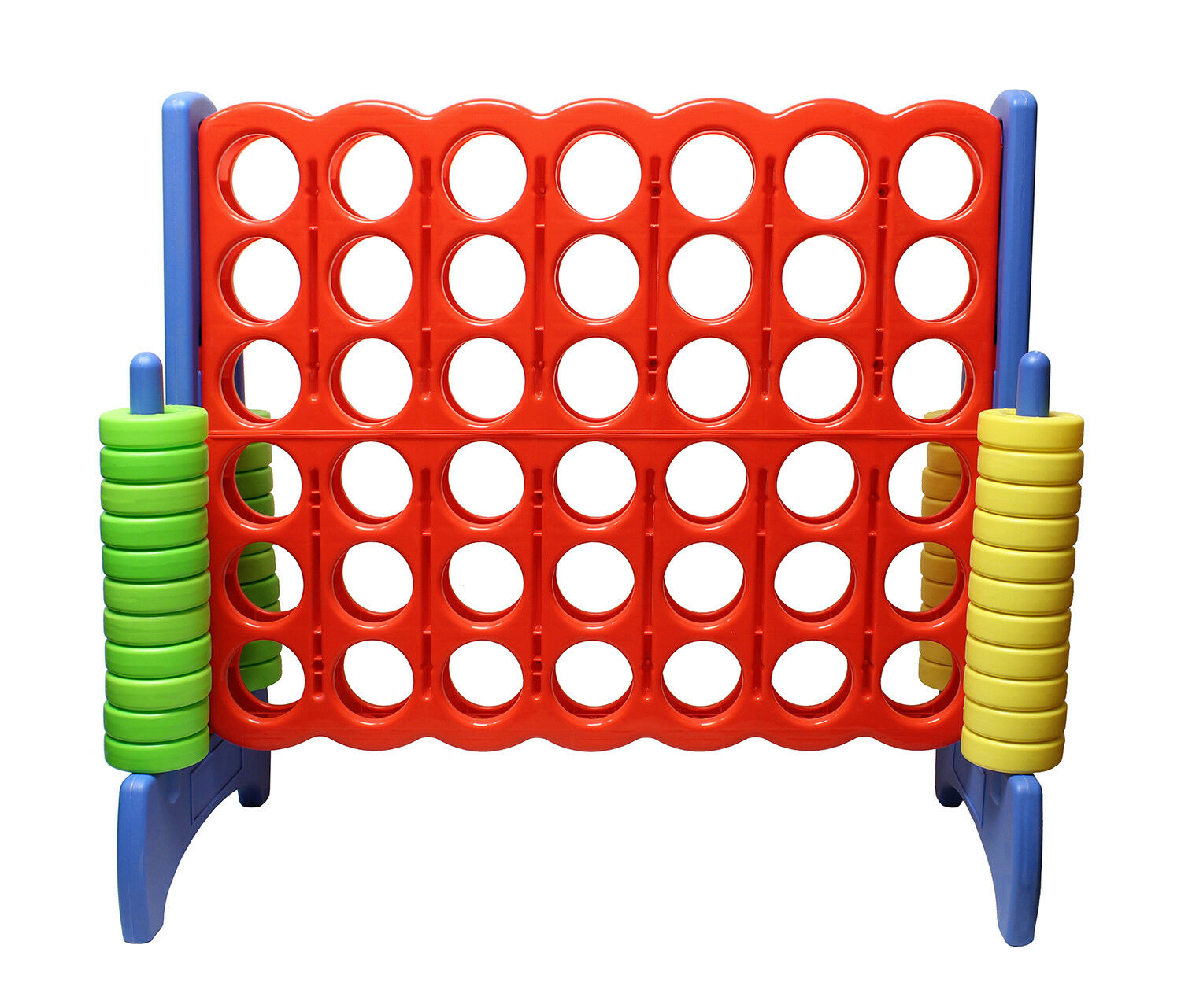 Get Out ™ Giant Four-In-A-Row OverGrößed Game – Jumbo Outdoor Large Yard Game