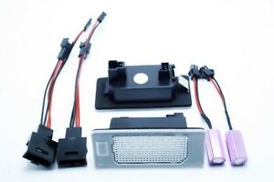 2x-LED-LICENSE-NUMBER-PLATE-LIGHT-AUDI-A4-B8-CANBUS