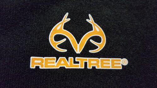 Mossy Oak or Realtree Men/'s Black Fleece Performance Camo 1//4 Zip Jackets M-XL