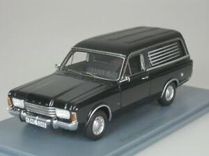 Ford Taunus P7 Pollmann Corbillard 1969 Noir 1/43 Neo 45265 Neuf