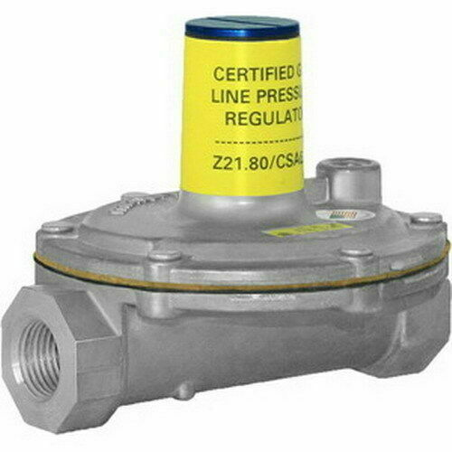 """1/"""" Maxitrol 325-5A FNPT Aluminum Lever Acting Design Pressure Regulator"""