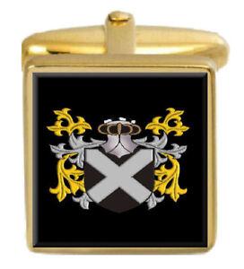 Fitzpatrick Irland Familie Wappen Familienname Manschettenknöpfe Schachtel Set FüR Schnellen Versand