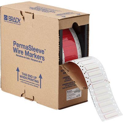 "Sweet-Tempered Brady 3"" Core Series Permasleeve Hx Heat Shrink Wire Marking Sleeves Hx-250-2-wt Office Equipment"