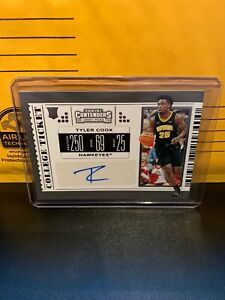 2019-20-Panini-Contenders-Draft-Picks-Tyler-Cook-College-Ticket-Rookie-RC-Auto