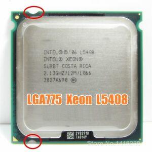 XEON-L5408-2-13GHz-12M-1066Mhz-CPU-equal-to-LGA775-Core-2-Quad-Q8200-CPU-works