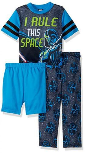 Star Wars Boys 3-Piece Pajama Pant Set Size 4 6 8 10 $38