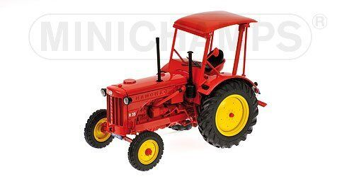 Trattore Hanomag R35 Farm Tractor With Roof 1955 rouge 1 18 Model 109153071