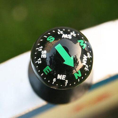 Mini Flexible Navigation Dashboard Suction Compass Ball Cup Car Boat Vehicle RA