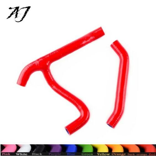 For Polaris Outlaw MXR 450// MXR 525 525S 2007-2011 Silicone Radiator Hose Red