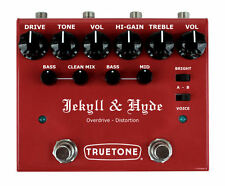 NEW Truetone V3 Jekyll & Hyde Overdrive LIFETIME WARRANTY! FREE S&H visual sound
