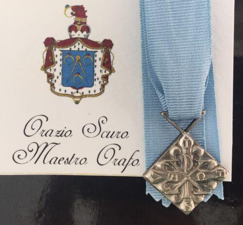 Miniatura Benemerenza Giubilare Sacro Militare Ordine Costantiniano S Giorgio