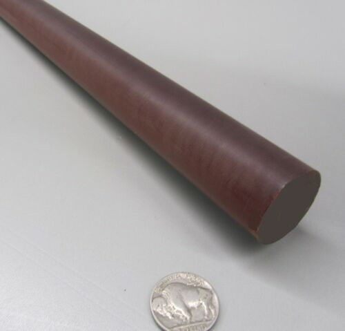 "1 1//4/"" Diameter x 48/"" Long, Phenolic Garolite Micarta XX Paper Rods  1.250/"""