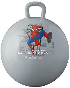 SPIDER-MAN 2 HOPPER BALL Children 4+ KIDS TOY Sport BOUNCER Fun Play MARVEL HERO