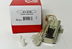 WB13K21 for GE Maytag Magic Chef Gas Oven Range Ignitor Coorstek 501A Glowbar