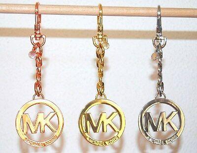 MK Michael Kors Key-Charms Neu Schlüsselanhänger silber rose gold Cain Anhänger
