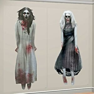 HALLOWEEN-GHOST-GIRLS-SCENE-SETTER-GOTHIC-ZOMBIE-PARTY-WALL-DECORATION-ADD-ONS