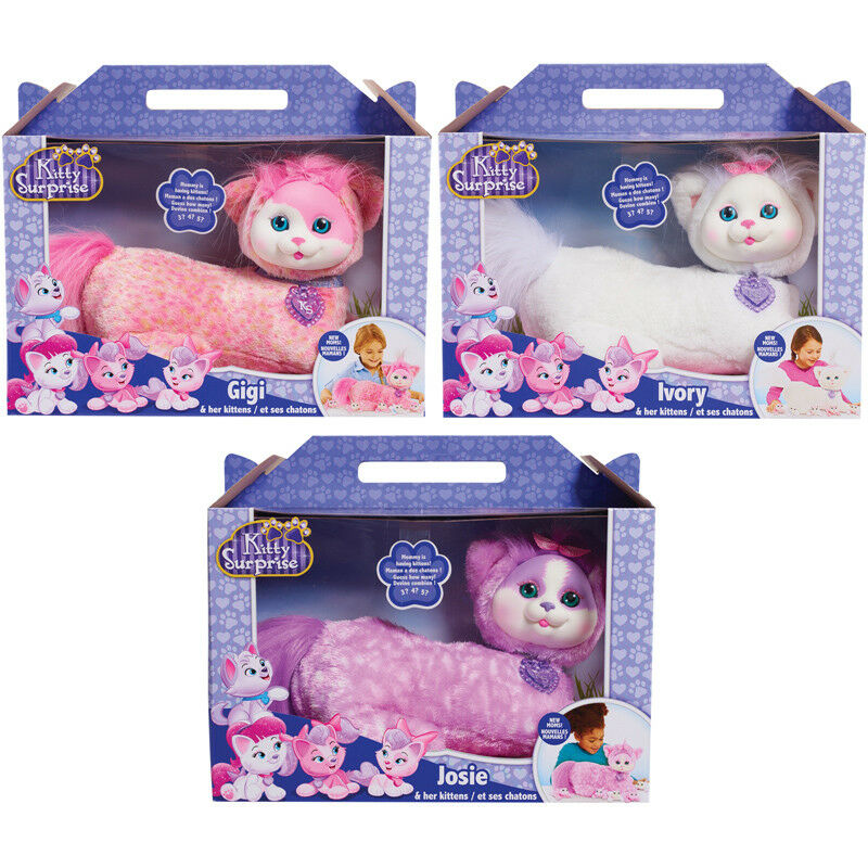 Kitty Surprise Plush (Wave 7) Choice of Plush NEW (One Supplied)