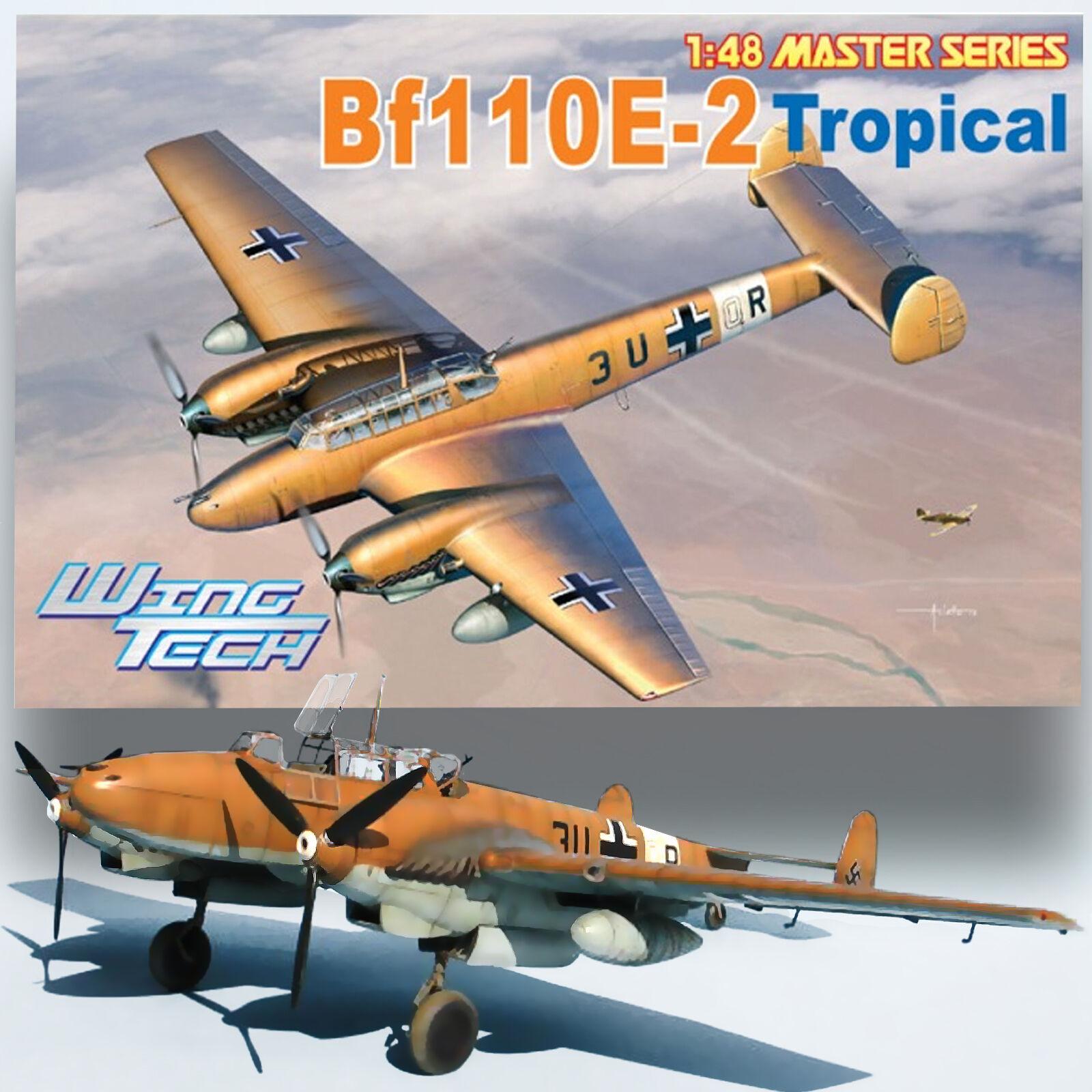 CYBERHOBBY 1 48 MESSERSCHMITT BF-110E-2 TROP KIT