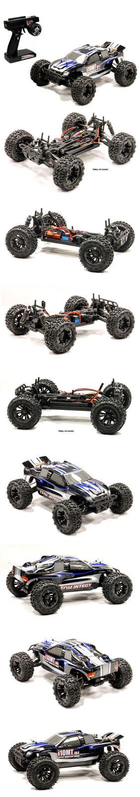 INTEGY i10MT01-820W V2 Edition i10MT sin escobillas 4X4 listo para correr 1 10 camión por INTEGY
