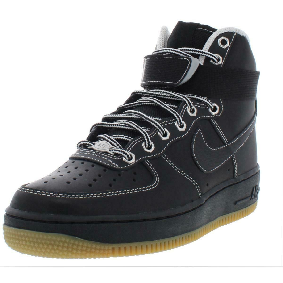 Nike herr Air Force 1 High 07 läder High Top Athletic skor skor BHFO 4121