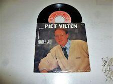 PIET VILTEN - Zonder Jou - 1986 Dutch 2-track Juke Box Vinyl Single
