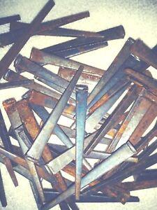 "2 1//2/"" Rose head 30 nails antique square wrought iron rustic Decorative 2.5/"""