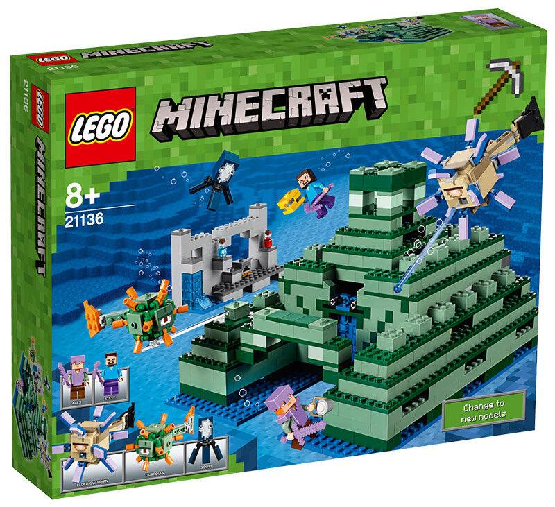 LEGO minecraft 21136-il Oceano Monument LEGO