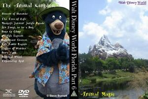 Walt-Disney-World-Florida-Part-6-Animal-Magic-Region-Free-DVD-or-Blu-Ray-NEW