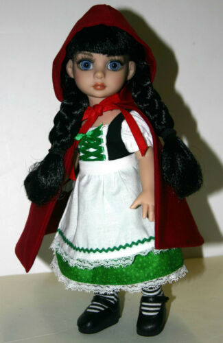 """Riding Hood Doll Clothes Sewing Pattern for 15.25/"""" Maudlynne Tonner"""