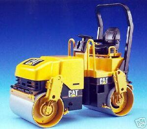 Bruder-Toys-Caterpillar-Asphalt-Roller-Compactor-New