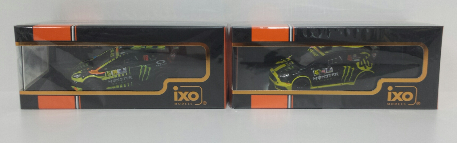 IXO 1/43 VALENTINO ROSSI  46 SET FORD FIESTA RS WRC MONZA RALLY SHOW 2013 - 2014