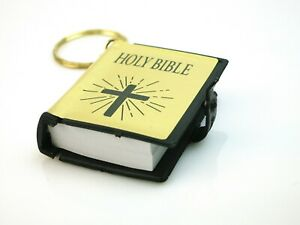 Details about Mini Holy Bible Protection Prayer Travel Flight Safety Charm  Christening Favour