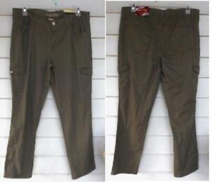 Faded Glory Para Mujer Skinny Stretch Pantalones Cargo Talla 18 Nuevo Con Etiquetas Verde Ebay