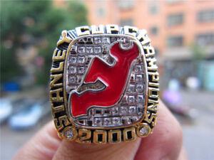 5ada3d603 2000 New Jersey Devils Stanley Cup Championship Ring Replica Fan Men ...