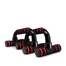 TKO Black Red Athletic Core Training Workout 2-Set Push-Up Bars NEW